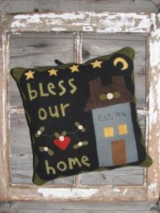 Wooden Spool Design - Bless Our Home image