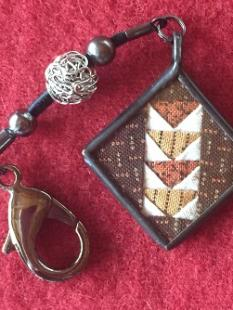 Charm - Flying Geese Scissor Fob image