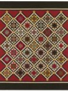 Red Crinoline Quilts - Soldier's Waltz image